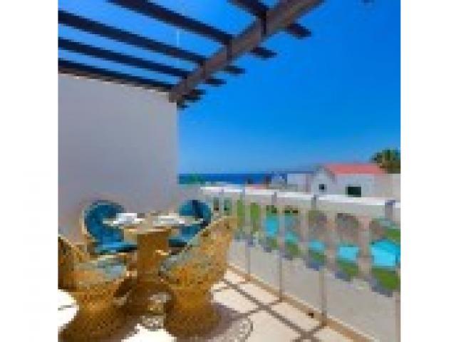 terrace - 3A Columbus Apartments, Puerto del Carmen, Lanzarote