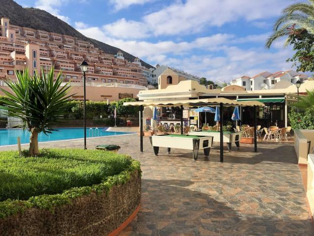 View from the pool and restaurant  - Castle Habour, Los Cristianos, Tenerife