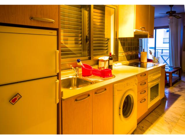 Kitchen - Ocean Vista Apartment, El Cotillo, Fuerteventura