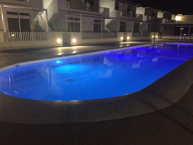Pool by night - Casa Helena, Puerto del Carmen, Lanzarote