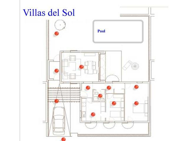 Floor Plan - Villas del Sol, Corralejo, Fuerteventura
