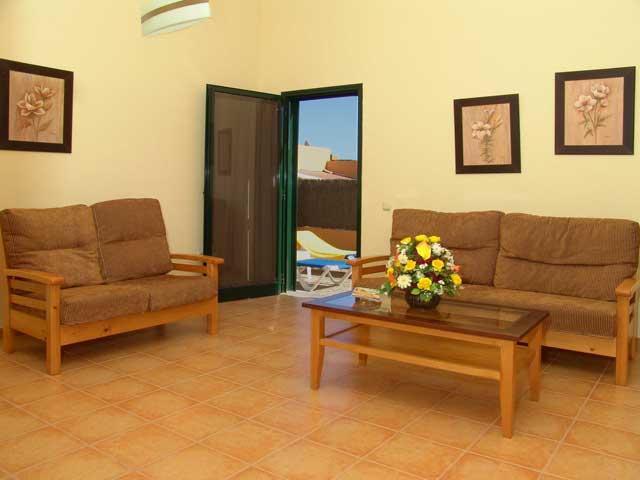 Lounge - Villas del Sol, Corralejo, Fuerteventura