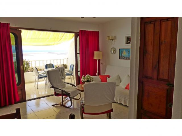 Bright living room - Nice Seaview Apartment, Puerto del Carmen, Lanzarote