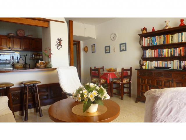 Dining area indoors - Nice Seaview Apartment, Puerto del Carmen, Lanzarote