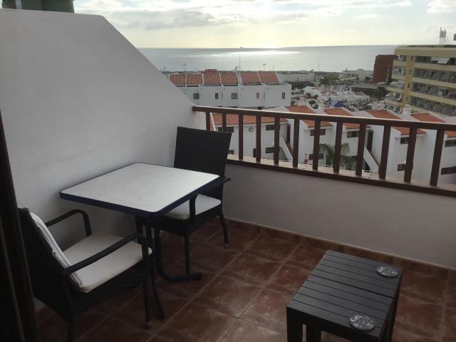 Downstairs Balcony(1) - Ocean Park San Eugenio , Adeje, Tenerife