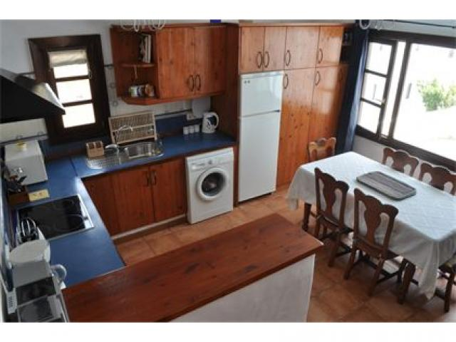 Dining Kitchen - 2 bed, sea view apartment, Punta Mujeres, Lanzarote