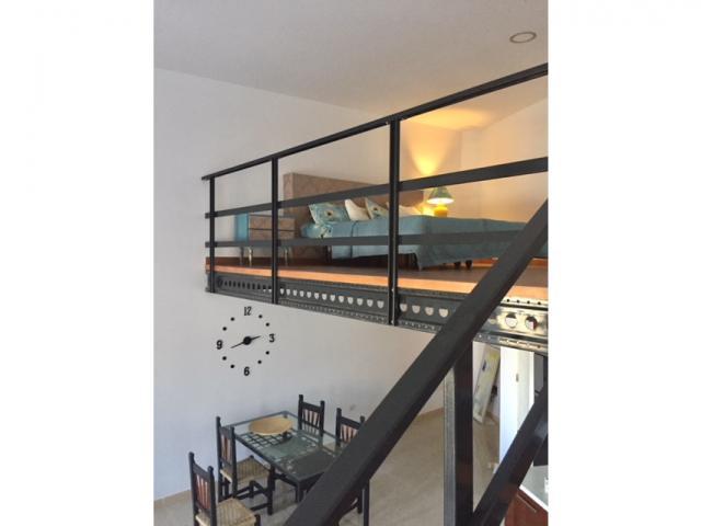 the duplex view - Comfy loft out of tourist, Golf del Sur, Tenerife