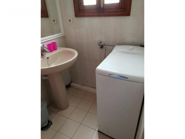 Bathroom showing washing machine - Fairways Club, Amarilla Golf, Tenerife
