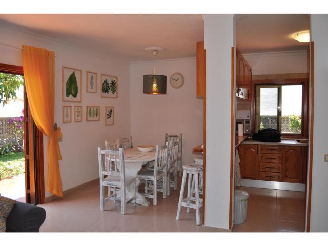 Los Cisnes - El Medano -Dining & Kitchen - Los Cisnes, El Medano, Tenerife