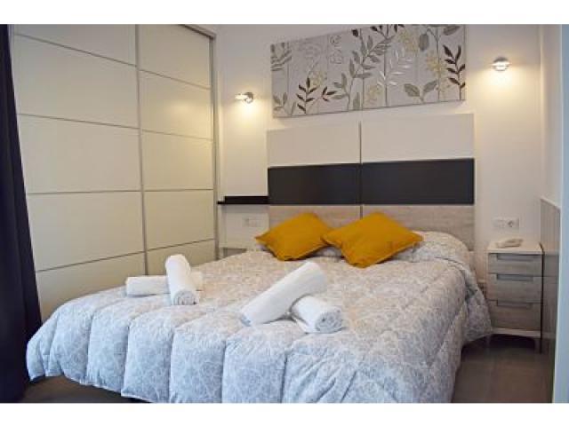 Master Bedroom upstairs - Holiday Urban, Corralejo, Fuerteventura