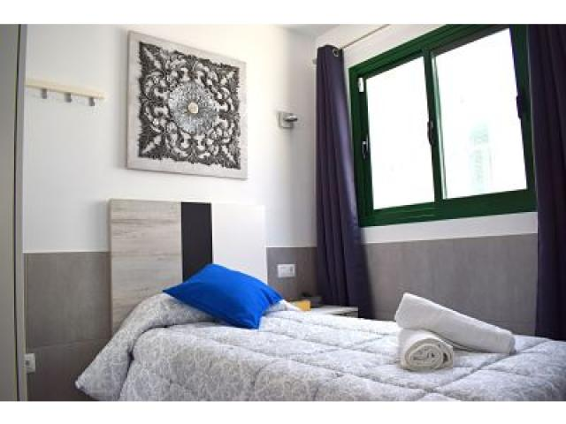Single bedroom upstairs - Holiday Urban, Corralejo, Fuerteventura