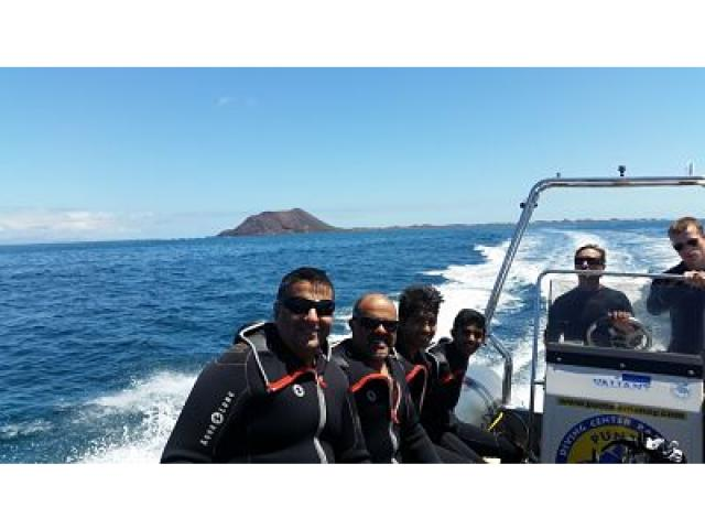 Diving - Holiday Urban, Corralejo, Fuerteventura
