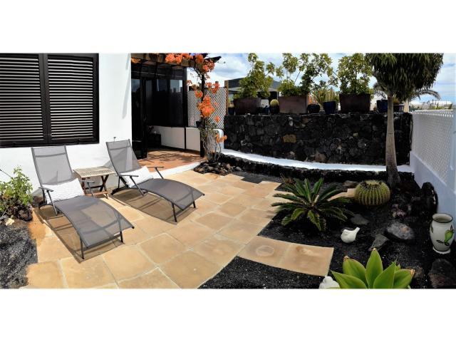 Garden - Casa Florence, Matagorda, Lanzarote