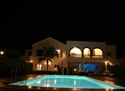 The Villa by Night